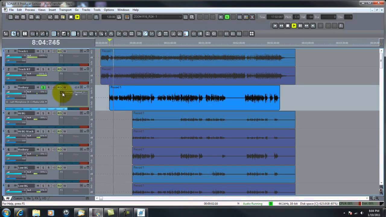 The Basics-Part 1-Editing Vocals In Cakewalk Sonar Computer Recording  Software
