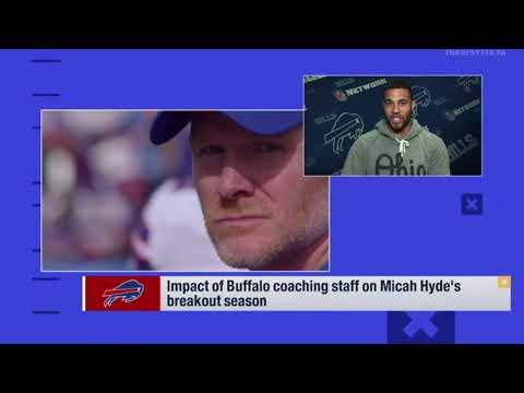 Impact Of Buffalo Coaching Staff On Micah Hyde's Breakout Season   NFL News 2018