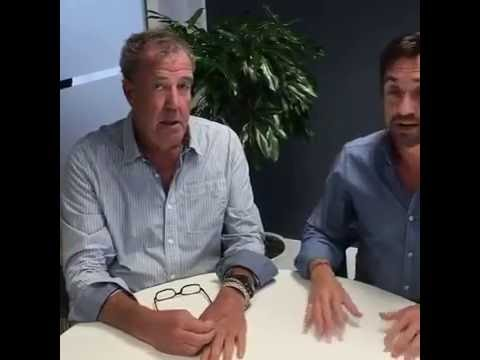 Jeremy Clarkson and Richard Hammond on The Grand Tour, Johannesburg