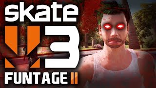 Skate 3: Funtage #2! - Night Of The Living Skaters! - (skate 3 Zombies Mode Funny Moments)