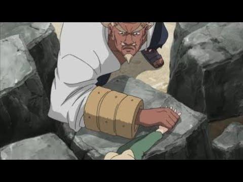 Arm Wrestling - Tsunade Vs Raikage Ay , Tsunade Meets Raikage For The First Time