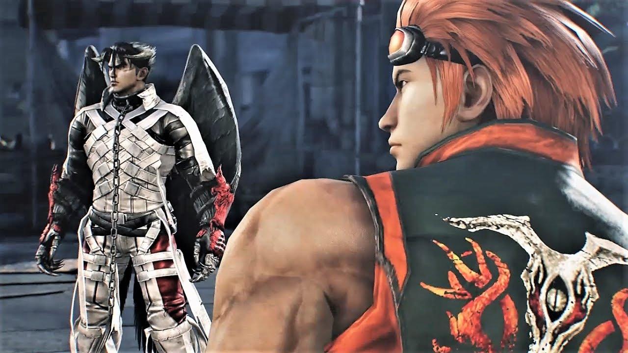 Tekken 7 Character Episode Devil Jin Hwoarang Youtube