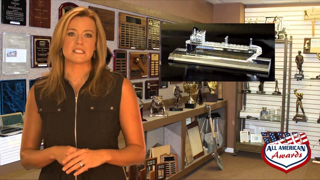 All American Awards Charleston, SC for Custom Crystal Awards,  www awardsguy com Trophy Shop