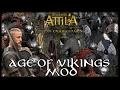 ragnar lothbrok 39 la sefer baŞlangici age of vikings total war attila 1 facecam