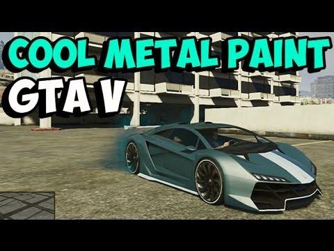 GTA 5 Online Secret Paint Job - Best COOL METAL Customization Guide (GTA V  Custom Car Paints) #2