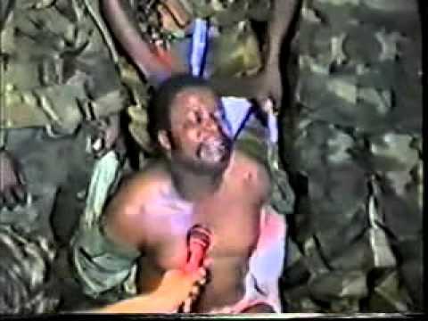 The Execution of former Liberian President Samuel K. Doe
