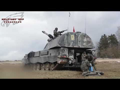 Modern German Army Combat Vehicles and Artillery (2018)