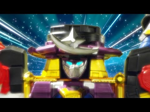 Power Rangers Super Ninja Steel  Sub Surfer Zord and Megazord  Episode 4