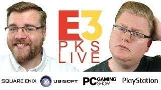 Sony, Ubisoft, Square Enix & PC Gaming PKs E3 2018 LIVE mit Piet & Chris Teil 2