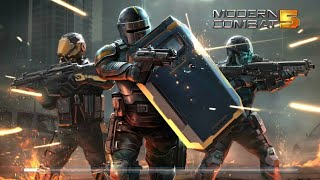 Modern Combat 5 3d Android game part 1