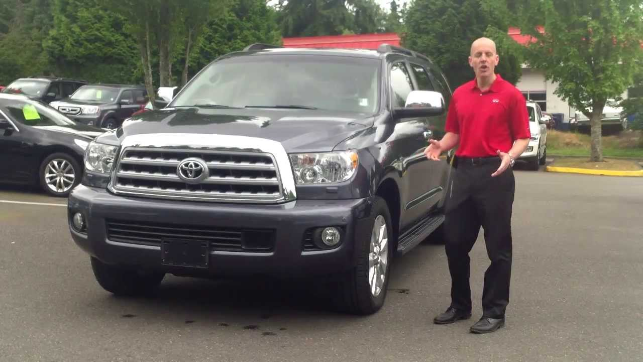 2010 toyota sequoia platinum 4x4 review in 3 minutes you. Black Bedroom Furniture Sets. Home Design Ideas