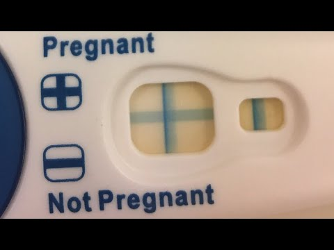 Live Clear Blue Pregnancy Test Positive Youtube