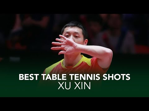 Insane Table Tennis Shots from Xu Xin 🇨🇳