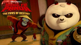 Monkey Business | KUNG FU PANDA: THE PAWS OF DESTINY