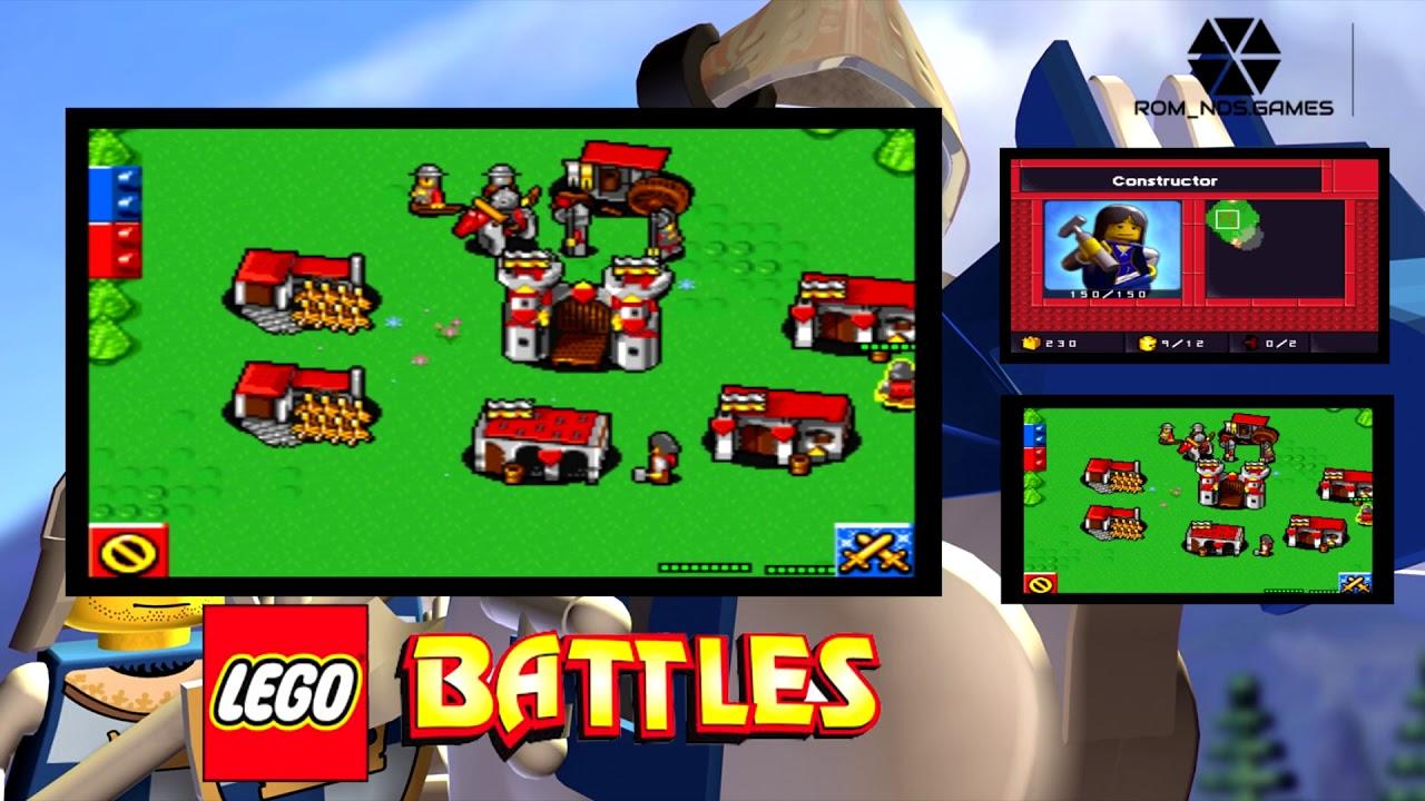 lego battles nds rom