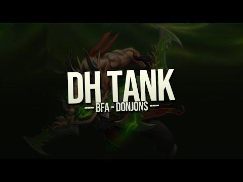 DH Tank - BfA - Donjons