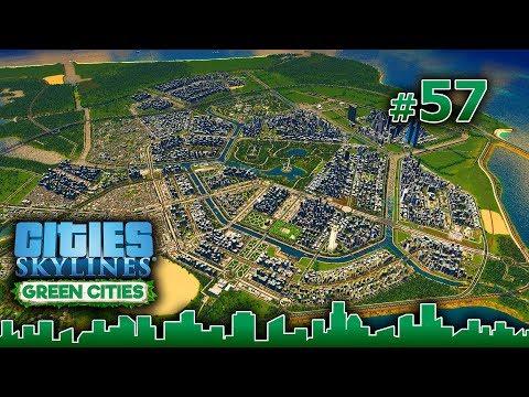 Cities Skylines GREEN CITIES – Grandes Obras #57 - NUEVO BARRIO BAJA DENSIDAD - Gameplay Español