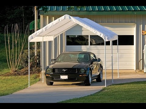 How To Build A Portable Carport/Storage Shed