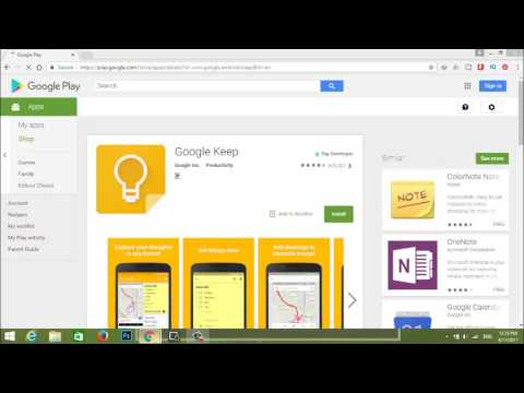 Google Keep- A note and list taking Google App