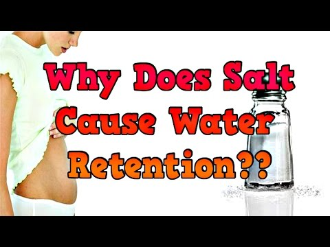 Why Does Salt Cause Water Retention?