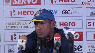 Sri Lanka are confident, but will have to bowl well on day 2 - Thilan Samaraweera