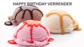 Verrender   Ice Cream & Helados y Nieves - Happy Birthday