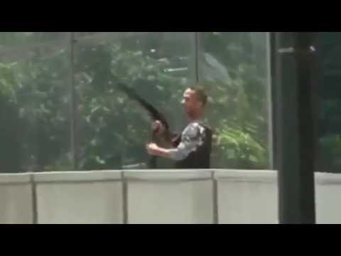 Caracas 10 abril 2017  francotirador