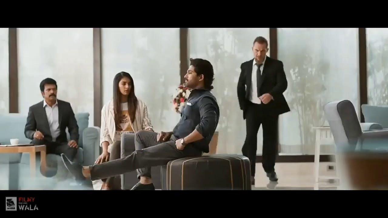 Download Ala Vaikunthapurramuloo 2020 Hindi World Television Premiere Coming Soon   Allu Arjun Pooja