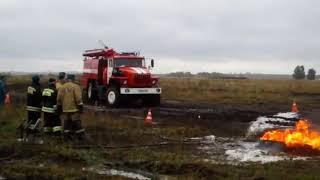 Бакчар. Томская область. Учение пожарных. Приколы с пожарными.