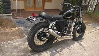 Megapro modifikasi Scrambler, japstyle  part2