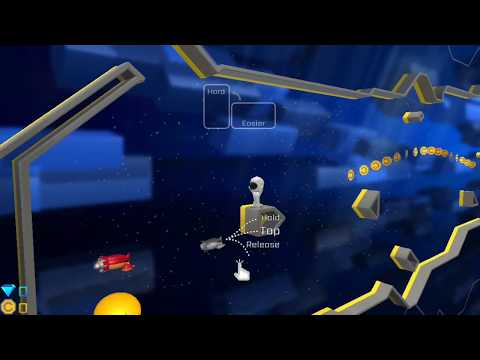 Chasmic Rush - A Mazing 3D Flyer - iPhone Gameplay Trailer 60fps