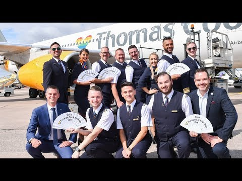 Thomas Cook Airline Pride Flight To San Francisco