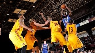 NBA D-League Highlights: Delaware 87ers 106, Canton Charge 117, 2013-11-23