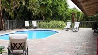 gorgeous 4 3 pool home plantation acres fl for sale 12351 nw 2nd st plantation fl
