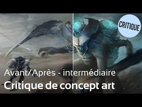 Tuto : Critique 3 - Concept art de Pacific Rim