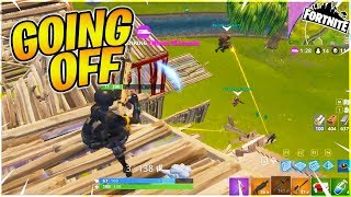 Whole Squad Is Going Off!! - Fortnite Crossplay With Viewers
