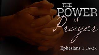 11/22/2020 The Power of Prayer