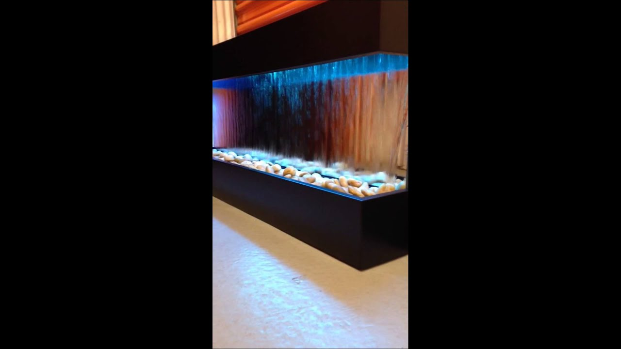 "49""x21"" wall waterfall from jersey home decor - youtube"