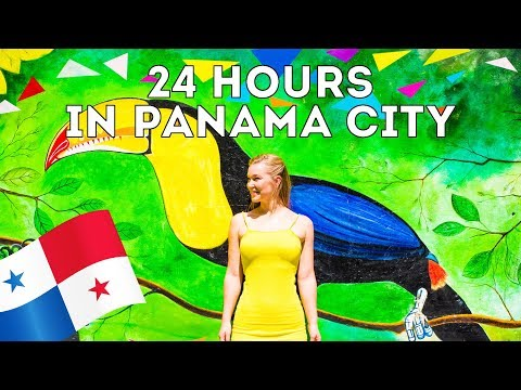 24 HOURS IN PANAMA CITY | Travel Vlog