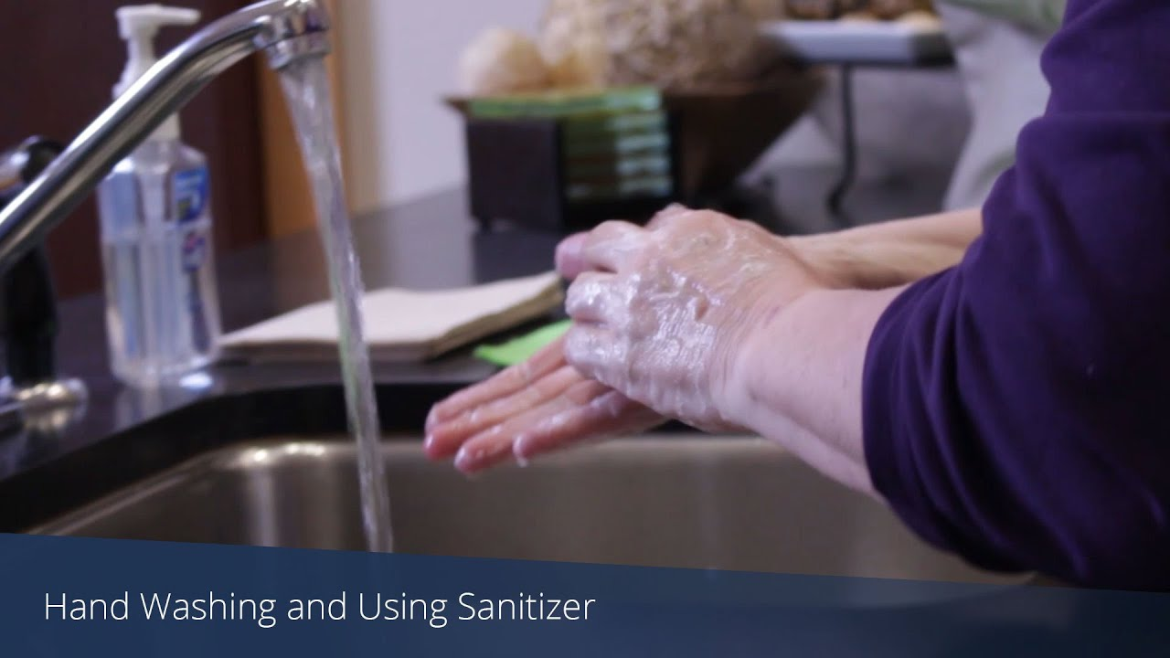 A screenshot from Handwashing with Soap and Sanitizer