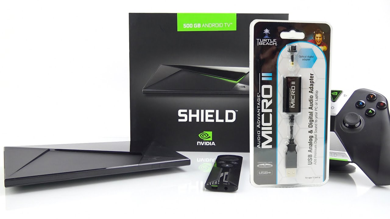 How To Add Optical Audio to The Nvidia Shield TV Console