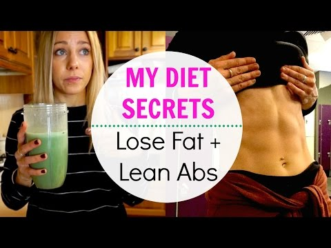 My Diet Secrets: How I'm Losing Fat + Getting Abs