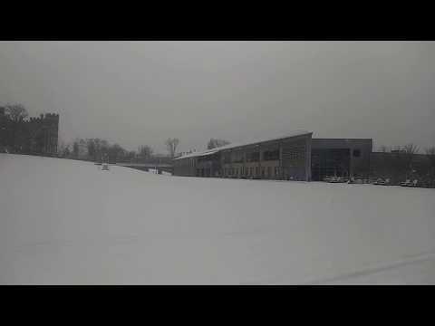 Snow In Glenside, PA