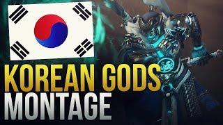 GODS OF KOREA - Overwatch Montage