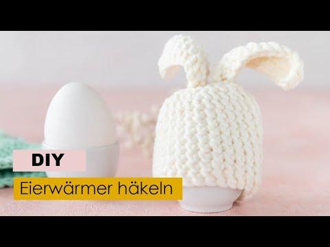 Hasen Eierwärmer Häkeln Youtube