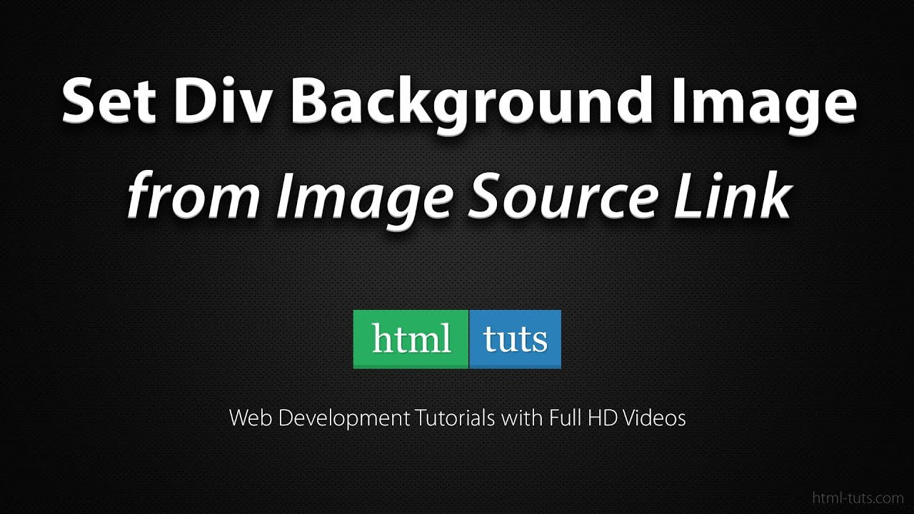 Background image for div - Set Div Background Image From Image Src Link With Jquery