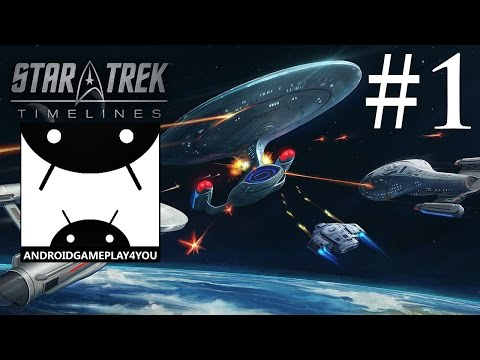 Star Trek Timelines Android GamePlay #1 (1080p) (By Disruptor Beam) [Game For Kids]