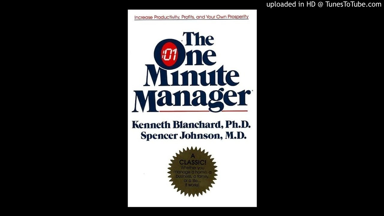 The One Minute Manager Ken Blanchard Pdf