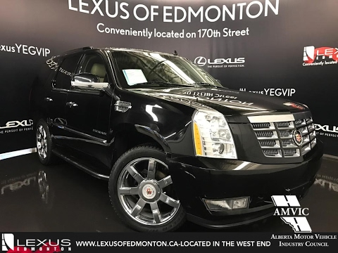 Used Black Cadillac Escalade AWD Walkaround Review - Edmonton cadillac
