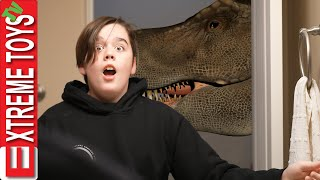 We&#39re Not Scared of Dinosaurs! Sneak Attack Squad VS Jurassic Park Aftermath!
